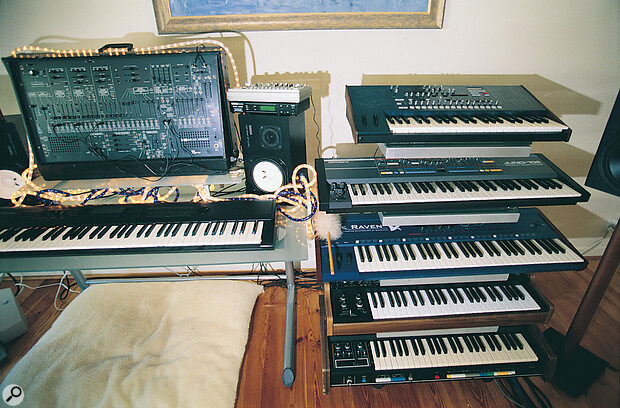 4 Box Studio - synths galore.