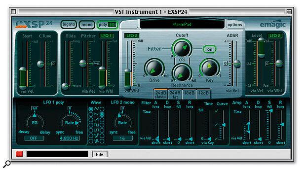 EMAGIC EXSP24 & EVP73