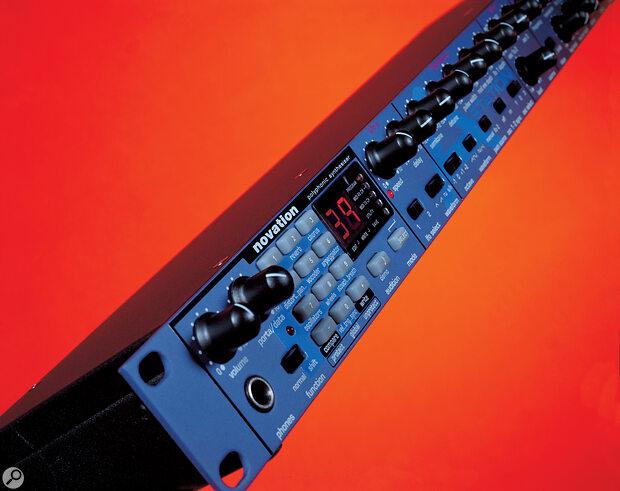 Novation A-Station rack synthesizer module.