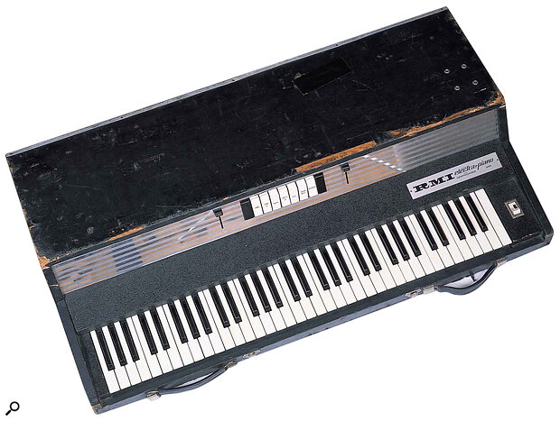 This 368 Electra‑piano, now owned by Gordon Reid, probably got some of its battle scars during use by former owners The Fixx and Gryphon.