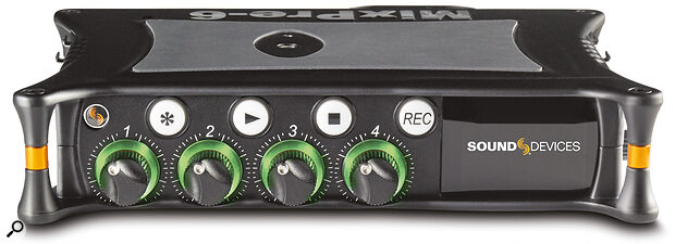 Improve your studio by freeing yourself to record outside the studio. Products like Sound Devices' Mix Pre range offer studio‑quality recording in a portable device.