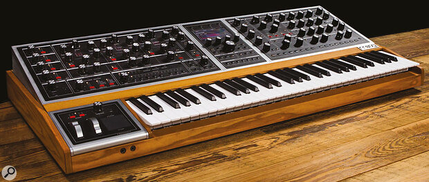 We live in agolden age for analogue synthesis. If you're feeling flush, treat yourself to aflagship instrument like the Moog One and Arturia PolyBrute!