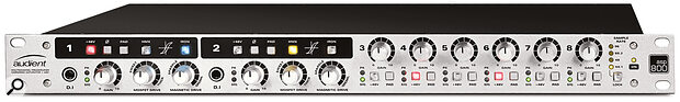 Audient's ASP800 preamp allows you to record super‑clean or dial in as much colour as you like.
