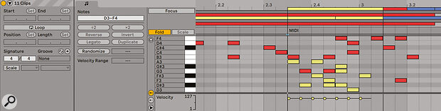 Multiple Arrangement view MIDI clips can now be edited at once.