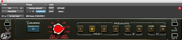 Pink2Pre plug-in.