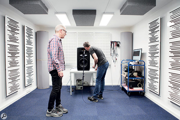 ADAM Audio's Berlin HQ incorporates state-of-the-art testing facilities which are used to ensure quality control.