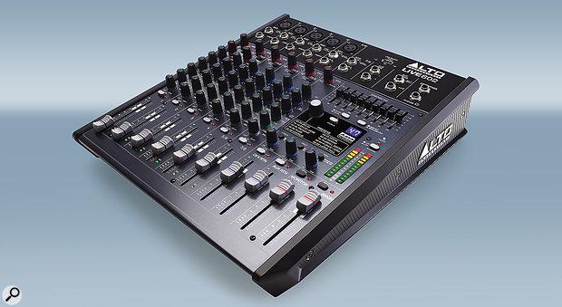 Alto Professional Live 802 mixer.