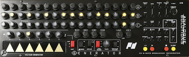 Analogue Solutions Generator sequencer.