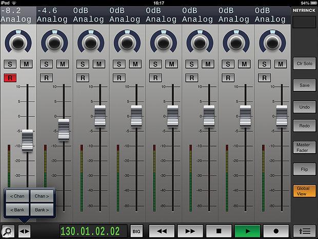 Neyrinck V-Control Pro app.
