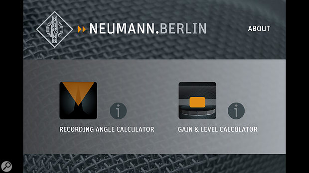 Neumann Recording Tools