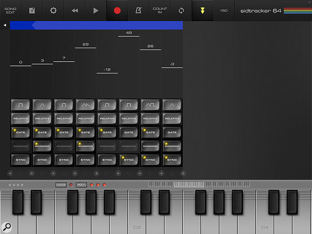 It's not wavetable editing in the PPG or Waldorf sense, but if you like manic, glitched timbres, SidTracker is surprisingly capable.