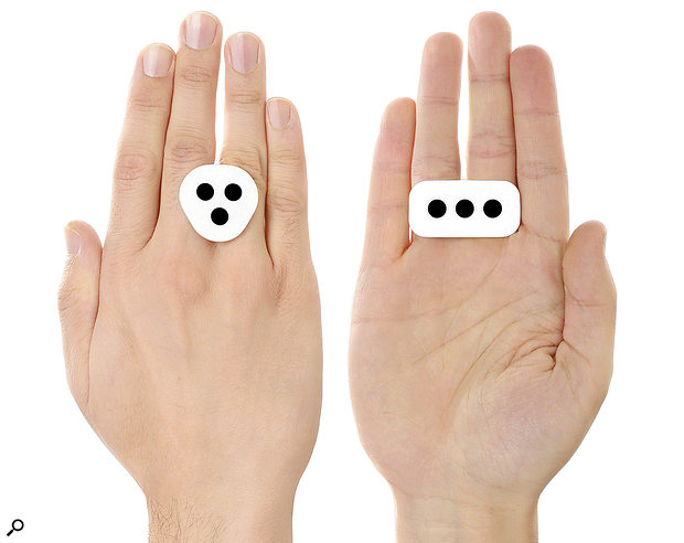 IK Multimedia iRing motion controller for iOS apps.