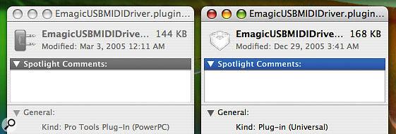Mac: Installing A MIDI Interface