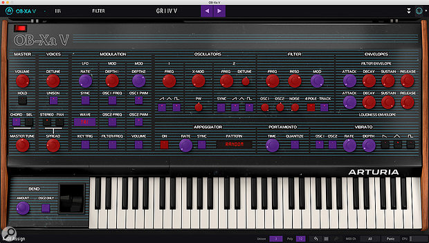 The colour scheme isn't haute couture, but it certainly lets you see which controls are assigned to MIDI CCs and which are not.