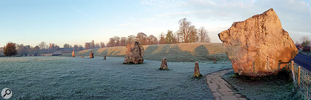 Avebury Henge is one of England's most significant and best-known neolithic sites.