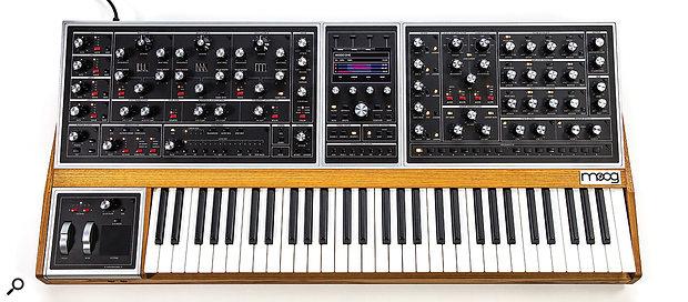 Moog One synthesizer.