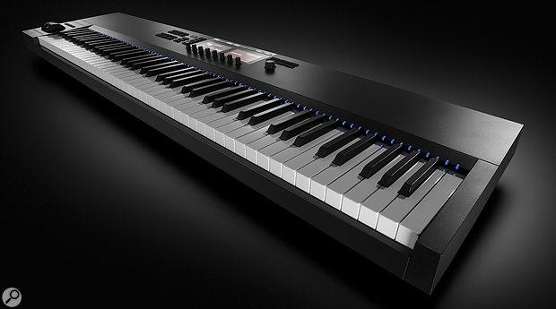 Native Instruments Komplete Kontrol S88 MkII keyboard.