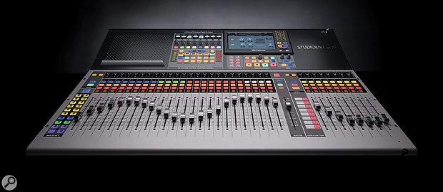 PreSonus StudioLive Series III S digital mixer.