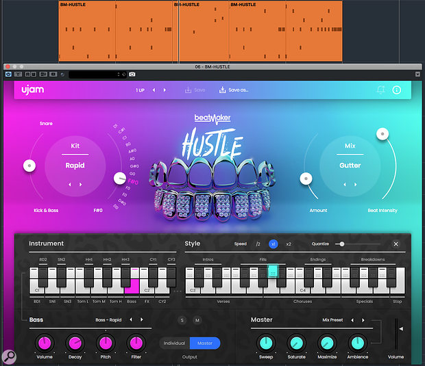 Patterns can now be dragged and dropped from Beatmaker 2 into your DAW, either for editing or playback using a different VST instrument.