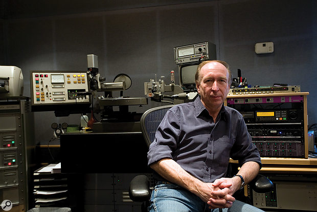 Steve Rooke's mastering room at Abbey Road.