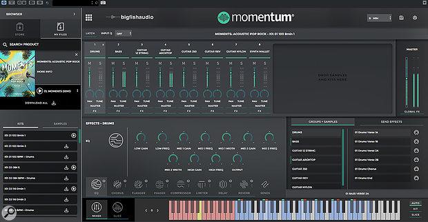 Big Fish Audio Momentum
