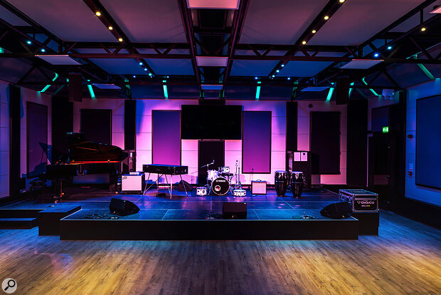 This performance space at Manchester's Royal Northern College of Music is the most impressive demonstration yet of the Boxy system's scalability.