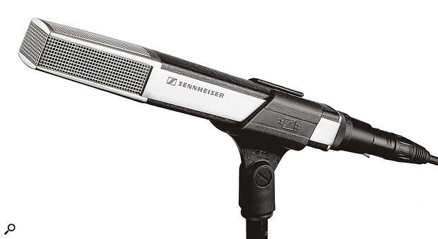 Hip to be square: the Sennheiser MD441 is instantly recognisable!