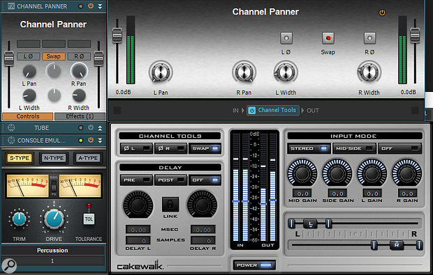 Because any plug-in can be inserted in an FX Chain, dragging an FX Chain into the ProChannel turns any VST or DirectX plug-in into a ProChannel effect.