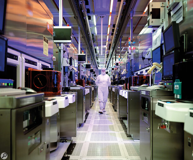 Manufacturing integrated circuits requires huge and extremely costly facilities.