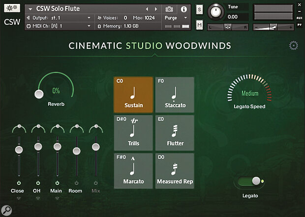 Cinematic Studio Woodwinds