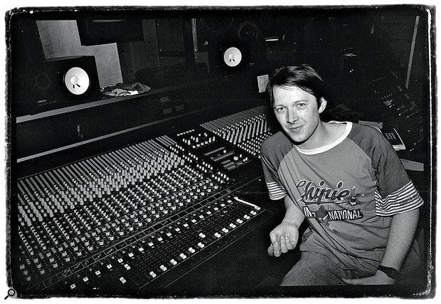 Graham Massey at Square One Studios, 1989.