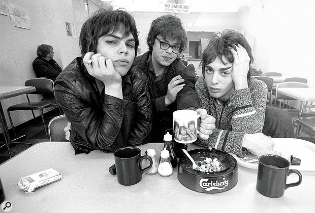 Supergrass. Left to right: Gaz Coombes, Mick Quinn and Danny Goffey.