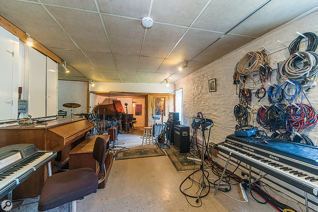 The live room at Sawmills.
