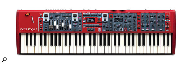 Clavia Nord Stage3 Compact.