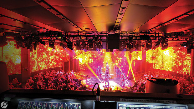 Front-of-house engineers aboard cruise ships will be expected to mix a wide range of material — anything from dance shows and musicals to late-night rock concerts.