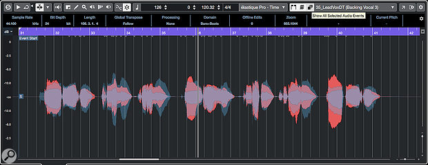 You can now overlay multiple audio waveforms within the Sample Editor.