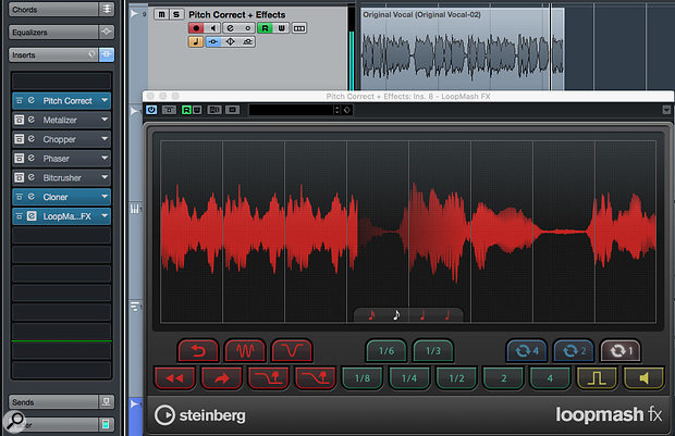 Don't overlook Cubase's stock plug-ins — they offer plenty of scope for vocal mangling.