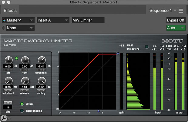 MW Limiter.