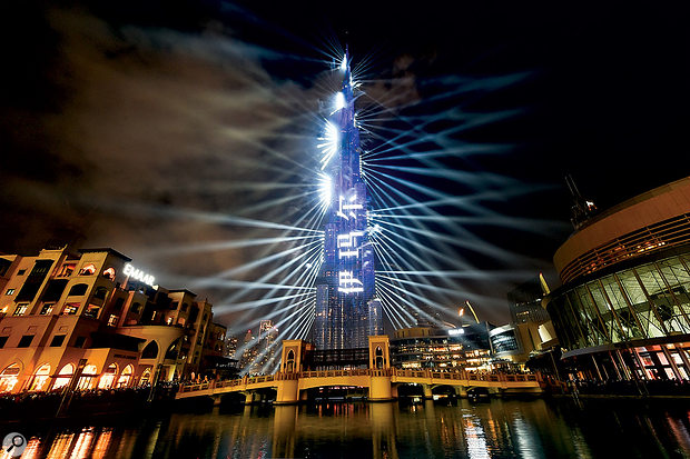Dom Jones: Composing For Dubai's New Year Spectacular