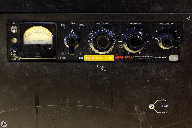 Fairchild offered both a mono version, the 660 (shown here), and the dual-channel 670.