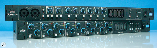 Focusrite Octopre MkII & MkII Dynamic