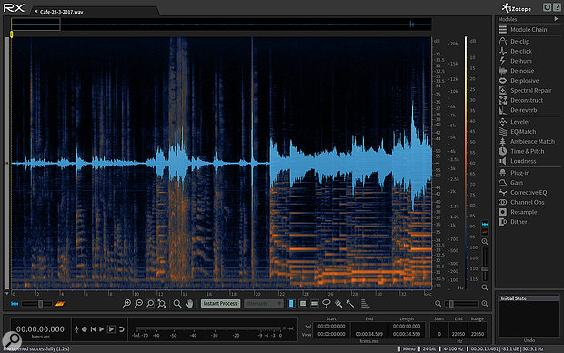 Restoration tools such as iZotope's RX are the stock in trade of the forensic audio analyst — but they might not always be used in the same ways that an audio engineer would employ them.
