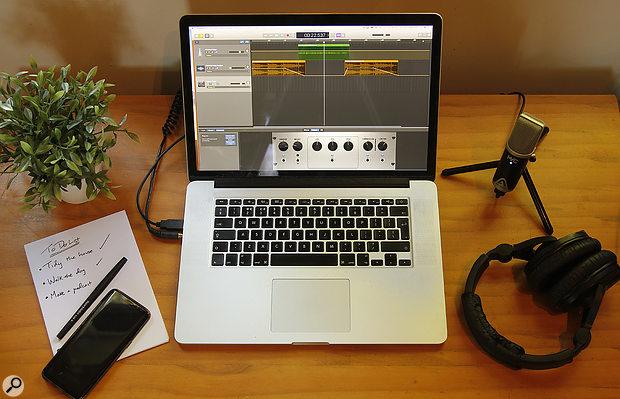 Podcasting In GarageBand