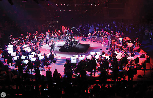 Recording Metallica & The San Francisco Symphony Live