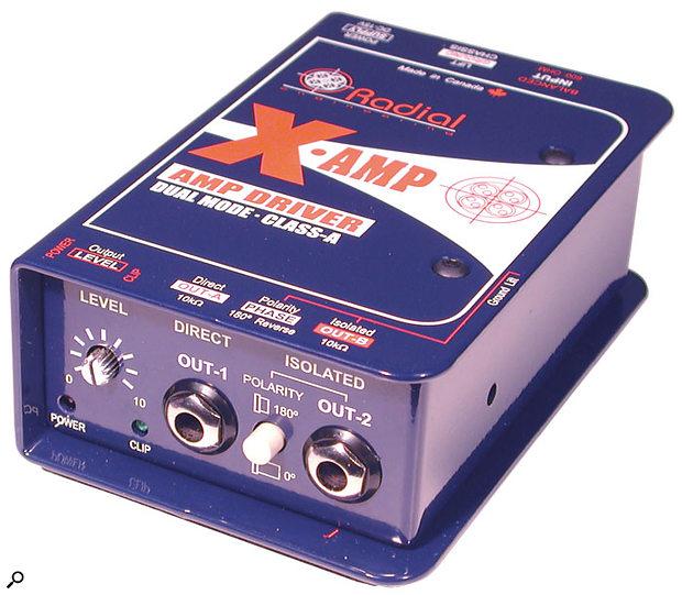 Radial X-Amp dual driver.