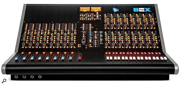 API The Box 2 mixing console.