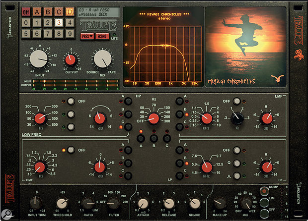Acustica Audio Taupe plug-in.
