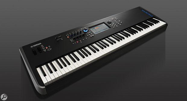 Yamaha MODX synthesizer.