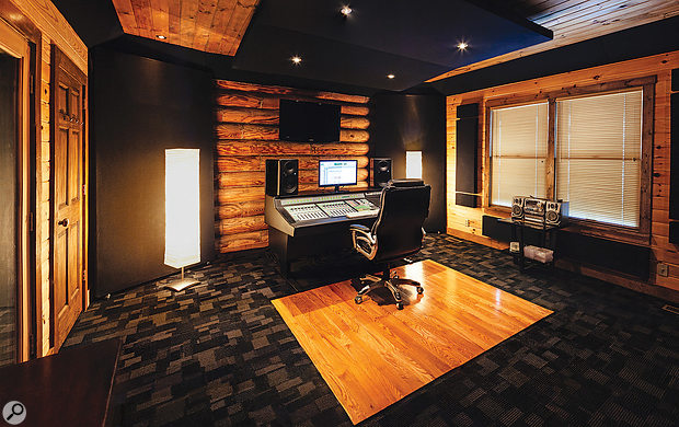 For the last three years, Billy Decker has mixed out of this minimalist space in Nashville's Westwood Studios.