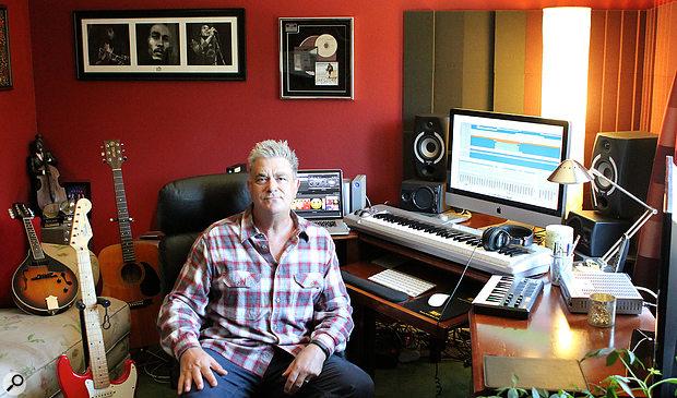 Kevin Savigar in his Satinwood Studio.